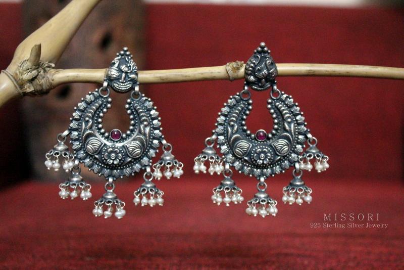 Featured Here  Antique Big Chandbali by Missori. Afghan Jewelry c7dfb1eb4761